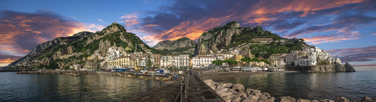 Egy hét az Amalfi-parton és a Nápolyi-öbölben
